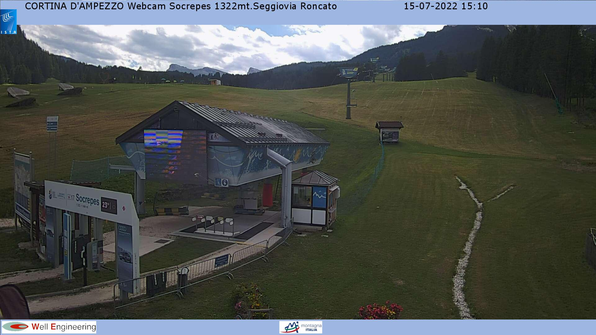 Cortina - Pista Socrepes