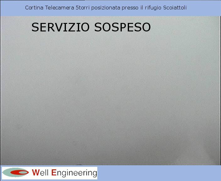 Panorama von der Hütte Rifugio Scoiattoli