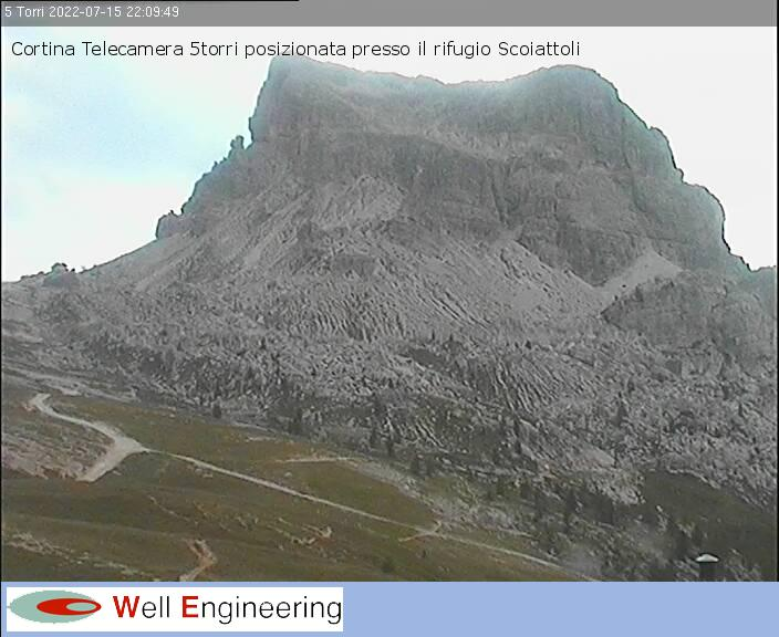 Rifugio Scoiattoli - vista Monte Averau