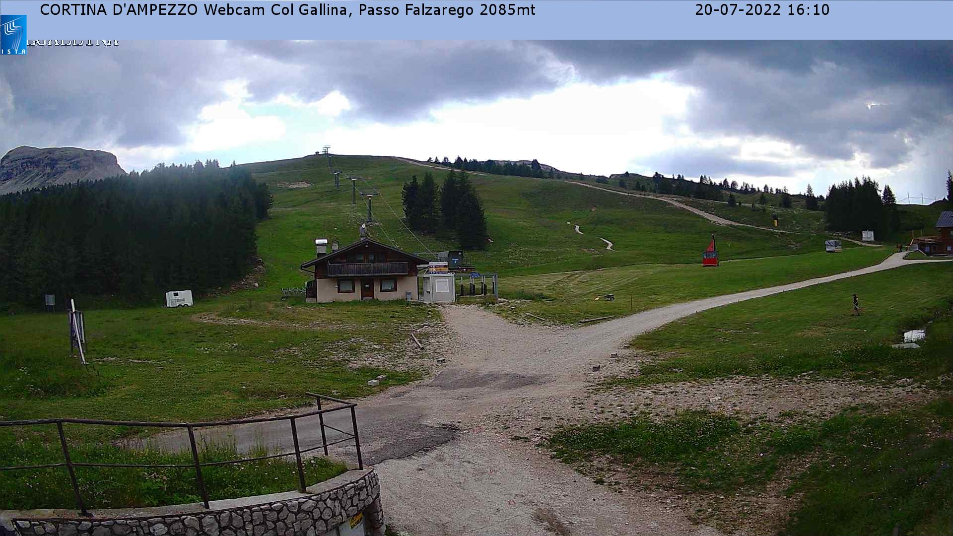 Webcam en Col Gallina, Cortina d'Ampezzo (Alpes Italianos)
