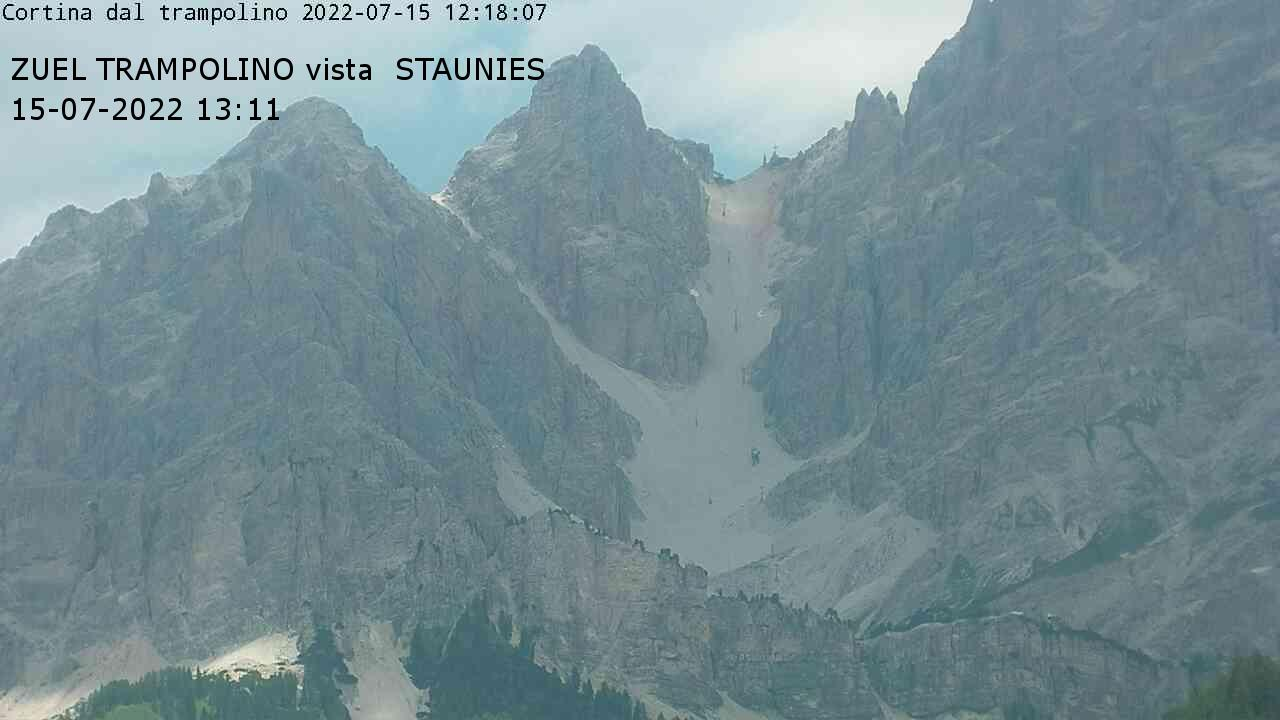 Pista Tondi, Rifugio Faloria, Monte Pomagagnon