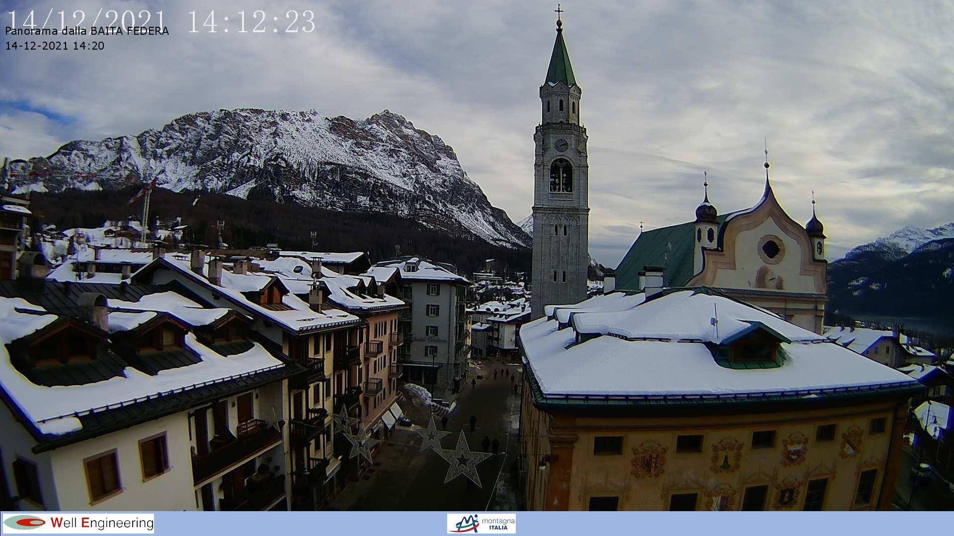 Webcam Cortina Malga Federa