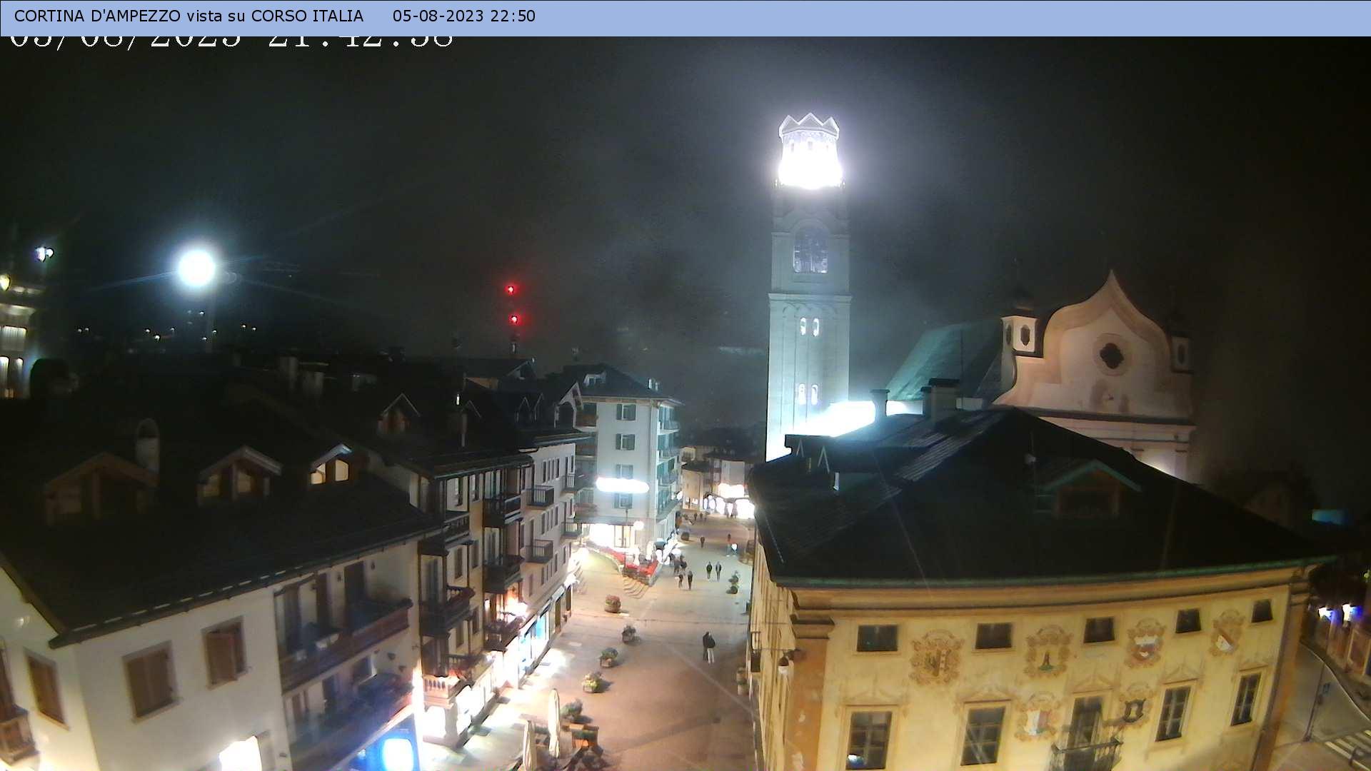 Cortina d'Ampezzo, centro storico