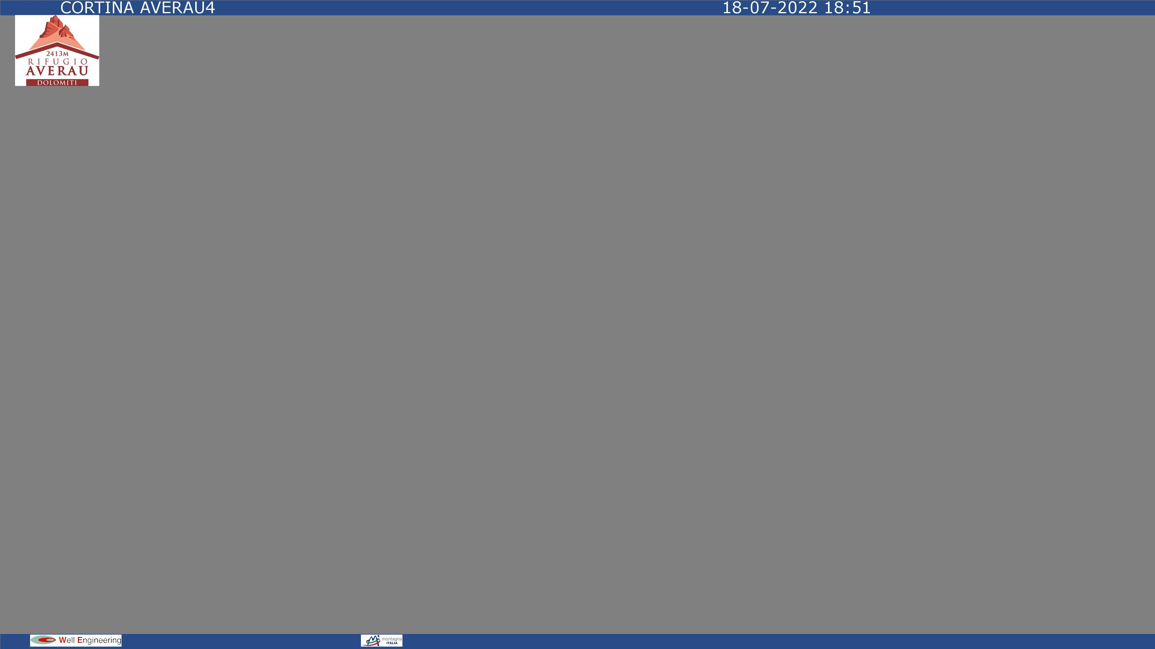Dal rifugio Duca d'Aosta, panorama di Cortina