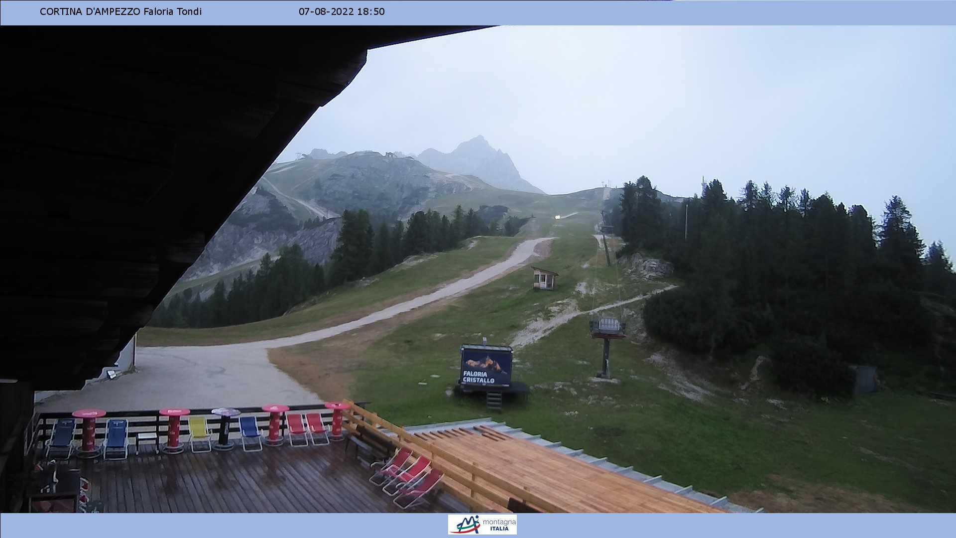 webcam Cortina Faloria - Tondi