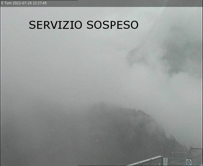 5 Torri - Vista Lagazuoi e Passo Falzarego
