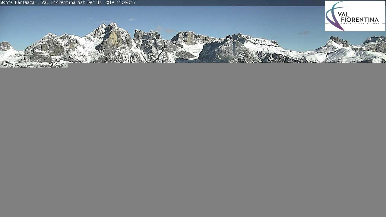 webcam selva di cadore monte fertazza